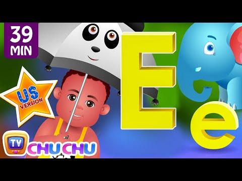 ChuChu TV Nursery Rhymes - US Voice Version Vol.3   Rain Rain Go Away, ABC Phonics & More Kids Songs
