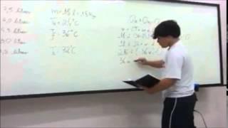 Equilíbrio Térmico - Resolução de Exercícios - Colégio Rezende Rezende