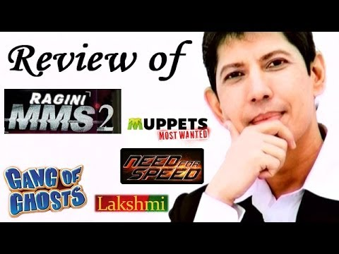 The zoOm Review Show - Ragini MMS 2, Gang of Ghosts, Lakshmi, Muppets Most Wanted, Need For Speed Online Review