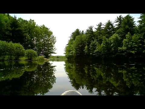 Canoeing On Lake Wintergreen