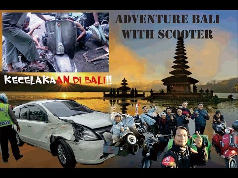 Classic Adventure With Scooter Go to Bali!!Gokil!!