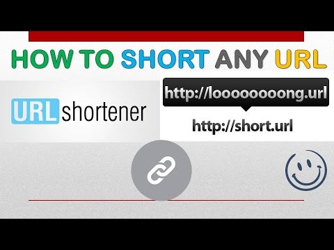 How To Short Any URL Link