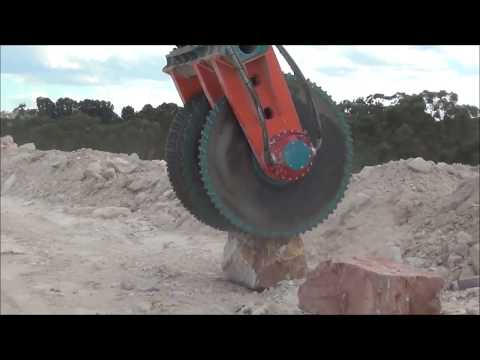 Xtreme Machinery - Mega Machines Marble And Granite Mining Giant Chainsaw, Circular Saw