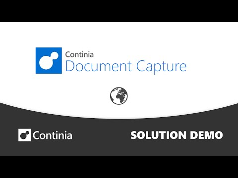 A quick overview of Continia Document Capture for Microsoft Dynamics Business Central