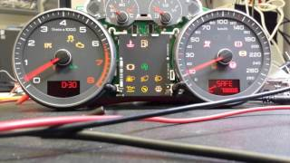 Audi A3 8P 2010 Micronas cluster - test on the table