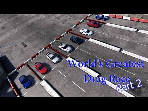 Forza Motorsport 4 - World's Greatest Drag Race 2!