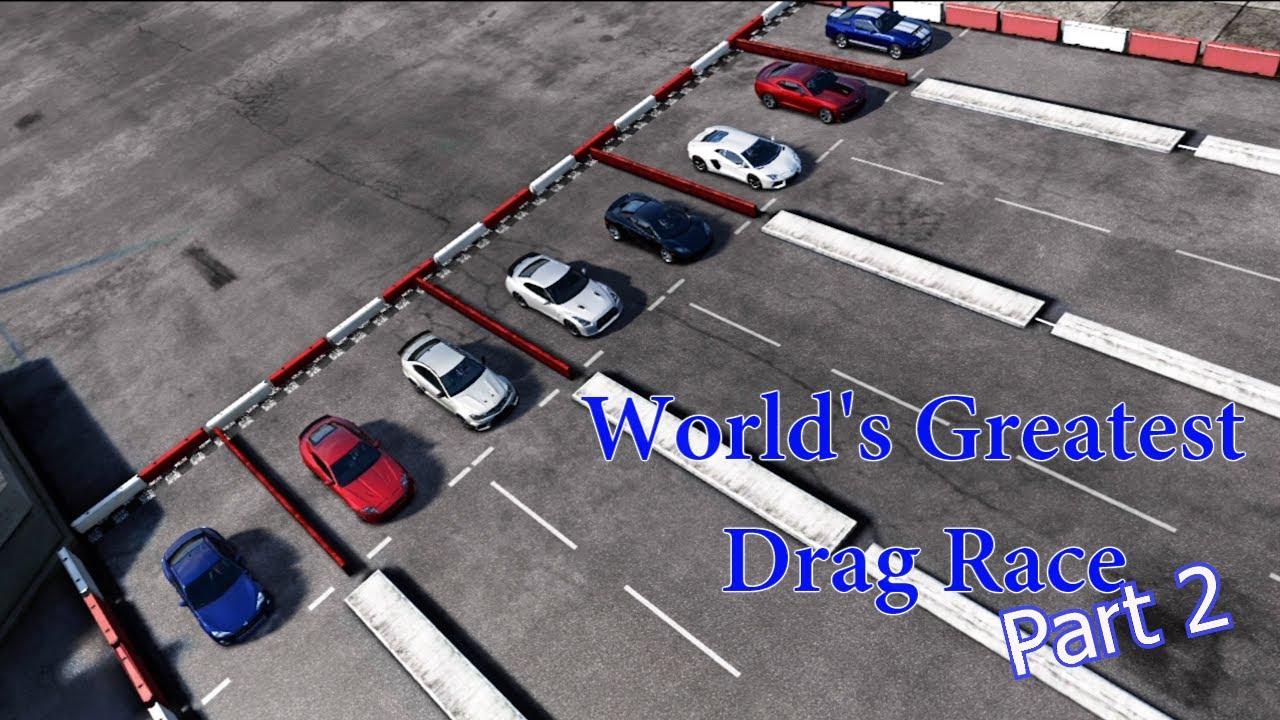 forza motorsport 4 worlds greatest drag race 2 youtube