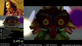 The Legend of Zelda: Majora's Mask 100% Speedrun World Record (4:52:18)