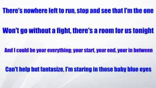 Olly Murs - Baby Blue Eyes (With Lyrics)