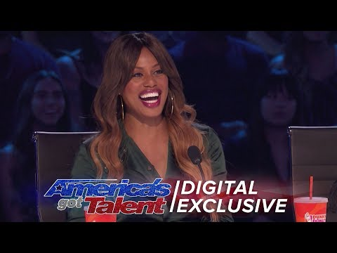 Laverne Cox Joins AGT As Special Guest Judge - America's Got Talent 2017 (Extra)