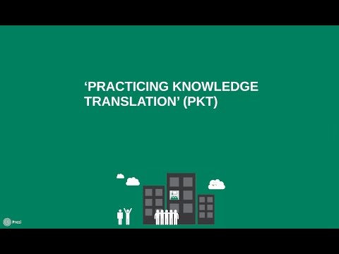Practicing Knowledge Translation (PKT)