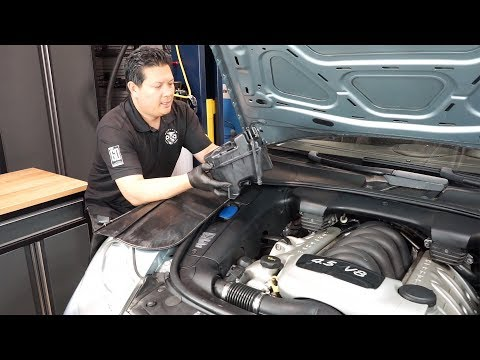 PCA Spotlight: How to replace an E1 Porsche Cayenne S coolant expansion tank in 30 minutes