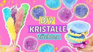 DIY KRISTALLE ZÜCHTEN auf 2 ARTEN 🌟Coole DIY Experimente gegen Langeweile 😍Tumblr Style!