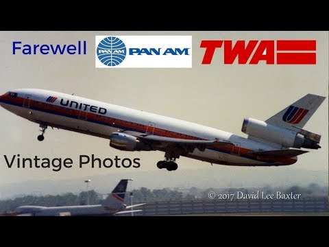 Farewell Pan Am - TWA / Return of the Tristar / Boeing 777 Debut! / Heathrow's 50th Birthday Party