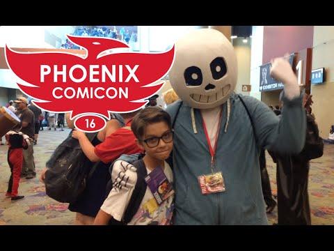PHOENIX COMICON 2016! VLOG #46 6-4-16