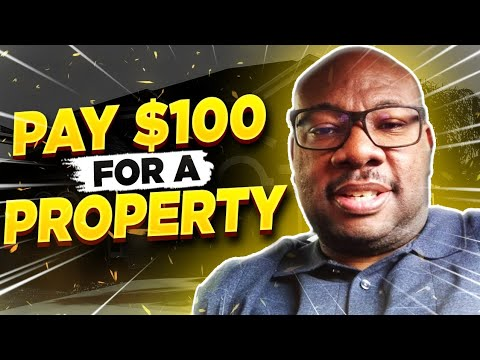 Pay $100 for a Property!  Target Delinquent Property Taxes!