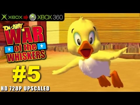 Tom and Jerry War of The Whiskers Playthrough PART 5 DUCKLING HD 720P (Xbox to Xbox 360)