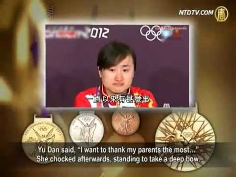 Thanks to Parents, Not Party For Olympic Bronze