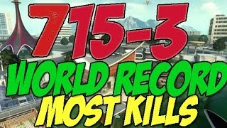 BO2: 715-3 WORLD RECORD! (MOST KILLS ON BLACK OPS 2) English Commentary