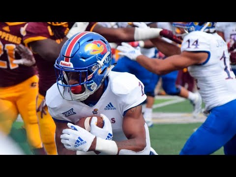 Kansas vs Central Michigan 2018 CFB Highlights (HD)