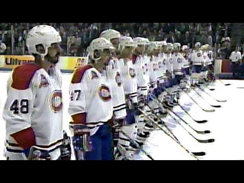 1993 Stanley Cup Final - Game 1 Player Introductions