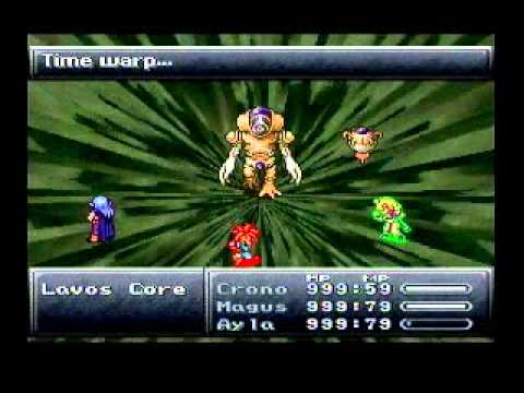 Chrono Trigger Final Boss Battle - Lavos/Left Arm/Right Arm and ...