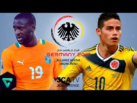 Ivory Coast vs. Colombia | Group H | 2017 JCA World Cup Germany | PES 2017