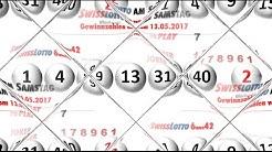 Lottozahlen 6aus42 - Swiss Lotto vom Samstag 13.05.2017