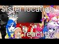 - • Sister location react to Fnaf counter jumpscares • • Fnaf, gacha club •