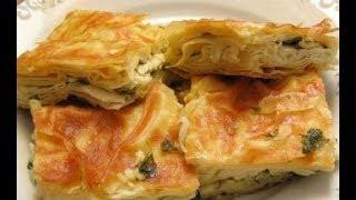 Таджикские слоеные пирожки // Постные луковые пирожки