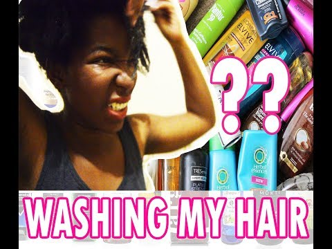 I Washed My Natural Hair After 3 Months / South African Youtuber