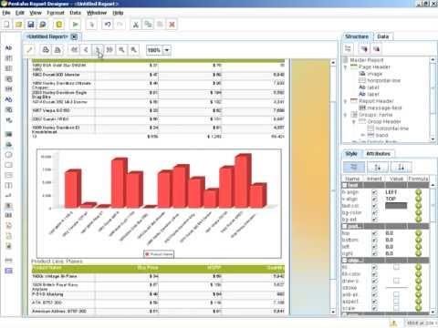 Report Design - Adding Charts