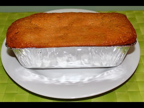 How to Bake Banana Cake Recipe - English