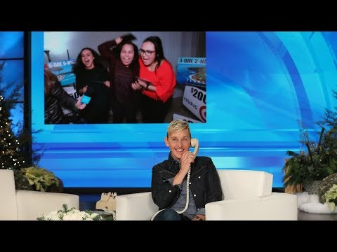 Ellen Surprises Fernanda and Her Family with All the 12 Days Gifts