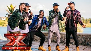 Emotions run high for New Kings Order    Judges Houses   The X Factor 2015