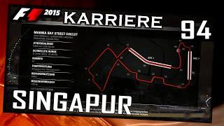 F1 2015/2. Saison #037/#094 Singapur/Training[German|HD+|PC] Legende 100%