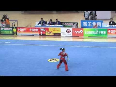 Compétition Kungfu (Wushu) Sabre Féminin en Chine