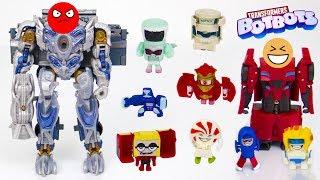 Распаковка Трансформеров BotBots - Роботы против десептиконов