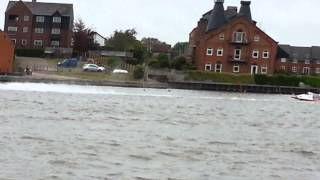 Oulton Broad, powerboats, speed, boats, England