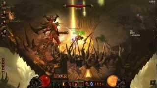 暗黑破壞神3 煉獄 迪亞布羅 公開4人遊戲 野蠻人
