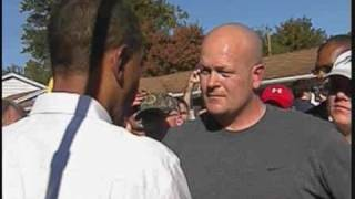 Meet Joe Plumber/ Obama talks to Joe Plumber (FULL VIDEO)