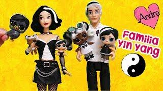 La familia LOL Yin Yang!!! Jugando muñecas y juguetes con Andre para niñas y niños thumbnail