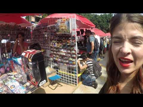 Collectible  Toys Street  Market CDMX-Spanglish travel Vlog 🇲🇽