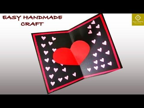Lovely diy pop up card - Easy handmade pop up birthday cards | Paper crafts 3