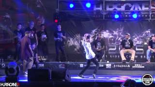 PARADOX VS 山田海上朗 [ Best 8-1 ] - HURRICANES BATTLE-ISM 2015 TAIWAN & HIP HOP 1ON1 SIDE