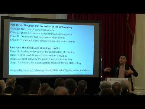Capital and Ideology: An Address by Thomas Piketty at Harvard University