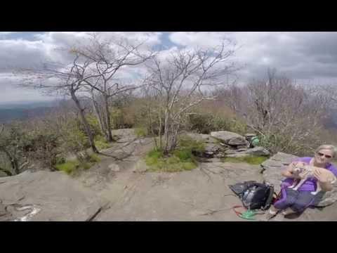 Blood Mountain hike May 2015