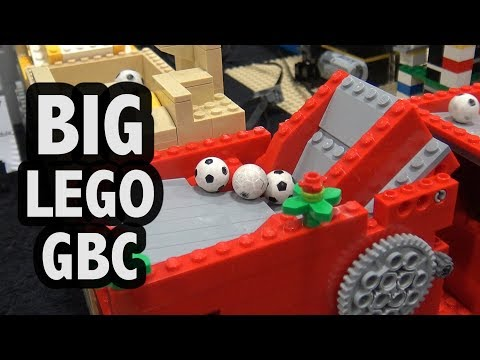 LEGO Great Ball Contraption at BrickFair Virginia 2017