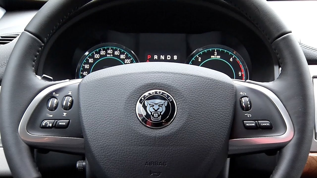 2014 Jaguar XF ▻ Interior   YouTube