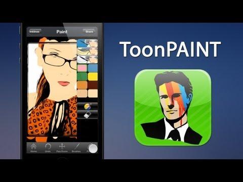 ToonPAINT: мультяшные карикатуры из фото